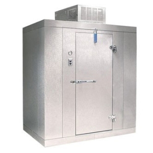 Commercial refrigeration walk in ice cooler